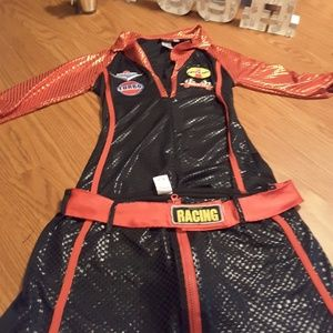 Dreamgirl Halloween auto racing costume size M